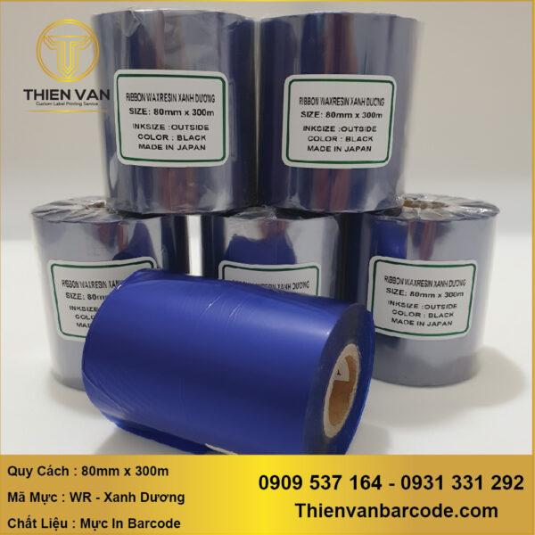 Muc In Ribbon Wax Resin Xanh Duong (1)