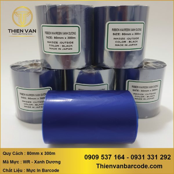 Muc In Ribbon Wax Resin Xanh Duong (3)