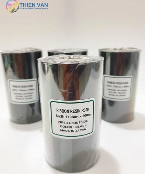 Ribbon Resin R300 110mmx300mm Black 02 Opt