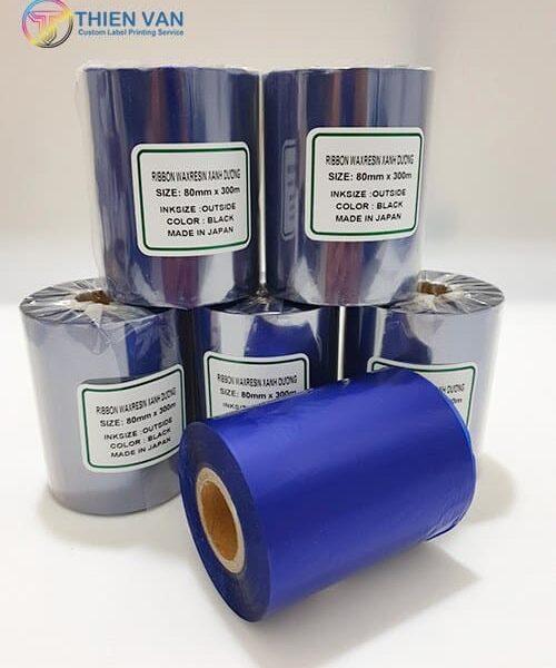 Ribbon Waxresin Xanh Duong 80mmx300mm Blac 02 Opt