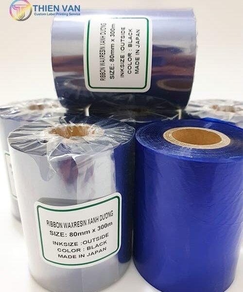 Ribbon Waxresin Xanh Duong 80mmx300mm Blac 03 Opt