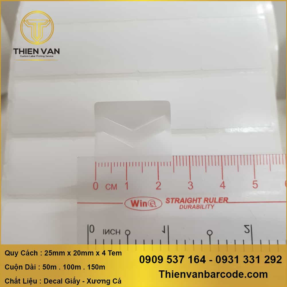 Decal Cuon Be Trang 25mm X 20mm X 4tem (2)