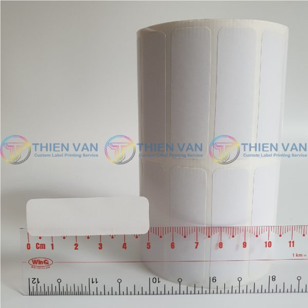 Decal Giay Tem Nhan Sticker 50mm X 15mm 2 Tem Ngang (2)