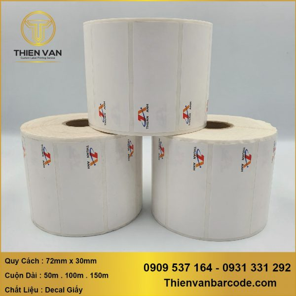 72mm X 30mm X In Logo ( Decal CuỘn In Logo) (1)